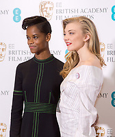 www.acepixs.com<br /> <br /> January 9 2018, London<br /> <br /> (L-R) Letitia Wright and Natalie Dormer taking part at The EE British Academy Film Award, BAFTA, nominations announcement at BAFTA on January 9, 2018 in London, England.<br /> <br /> By Line: Famous/ACE Pictures<br /> <br /> <br /> ACE Pictures Inc<br /> Tel: 6467670430<br /> Email: info@acepixs.com<br /> www.acepixs.com