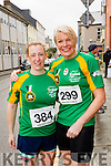 Tessy Whyte and Margaret Large at the start of the Kerry's Eye Tralee, Tralee Half Marathon on Saturday.