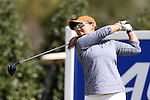16 April 2016: Virginia's Lauren Diaz-Yi. The Second Round of the Atlantic Coast Conference's Womens Golf Tournament was held at Sedgefield Country Club in Greensboro, North Carolina.