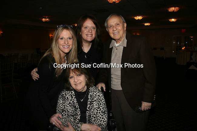 Marcia Tovsky - sister Karen - mom & dad at a benefit for American Lung Association on December 6, 2009 at Mezza on the Green at the Lawrence Country Club. (Photos by Sue Coflin/Max Photos)