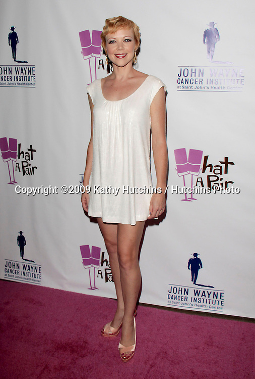 "Emily Bergl.""What A Pair! 7"" Celebrity Concert to Benefit the John Wayne Cancer Institute.The Broad Stage.Los Angeles, CA.September 26, 2009.©2009 Hutchins Photo...."