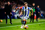 Kevin Rodrigues of Real Sociedad in action during the La Liga 2018-19 match between Atletico de Madrid and Real Sociedad at Wanda Metropolitano on October 27 2018 in Madrid, Spain.  Photo by Diego Souto / Power Sport Images