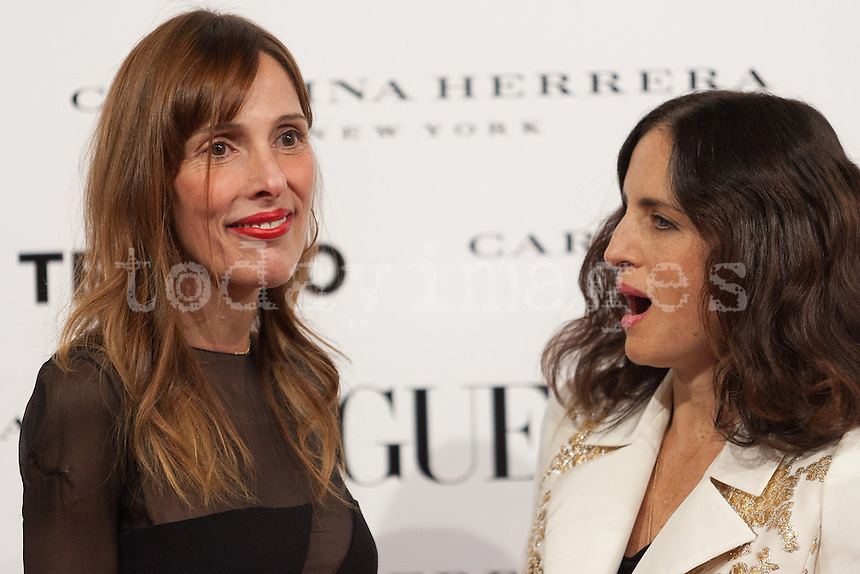 Yolanda Sacristan and Carolina Herrera  at Vogue December Issue Mario Testino Party