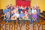 Sean O'Brien, winner of the Village Inn Golf Society Christmas hamper competition held in Dooks on Saturday, pictured with fellow members as he received his 1st place prize from Humphrey Kerins, Captain and Lal Collins, President, in the Village Inn, Kilcummin on Saturday night...