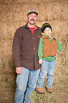Families gather after Christmas at the Cuneo Ranch in California's Mother Lode, Michael and his son Michael