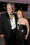 "Martha and Scott Livanec at the San Luis Salute ""Space Pirates"" VIP reception Friday February 24,2017. (Dave Rossman Photo)"