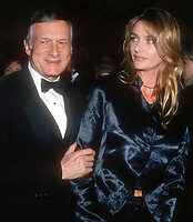 Hugh Hefner and wife Kimberly, 1994, Photo By Michael Ferguson/PHOTOlink