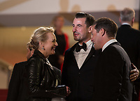 Claes Bang, Elisabeth Moss at the The Square premiere for at the 70th Festival de Cannes.<br /> May 20, 2017  Cannes, France<br /> Picture: Kristina Afanasyeva / Featureflash