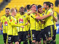 170326 A-League Football - Wellington Phoenix v Newcastle Jets