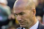 Coach Zinedine Zidane of Real Madrid prior to the La Liga match between Valencia CF and Real Madrid at the Estadio de Mestalla on 22 February 2017 in Valencia, Spain. Photo by Maria Jose Segovia Carmona / Power Sport Images