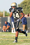 Palos Verdes, CA 10/02/09 - The Vista Murietta Broncos visited the Peninsula Panthers in a non-league contest, won 43-21 by Vista Murietta.  In action are Okuoma Idah (#24)