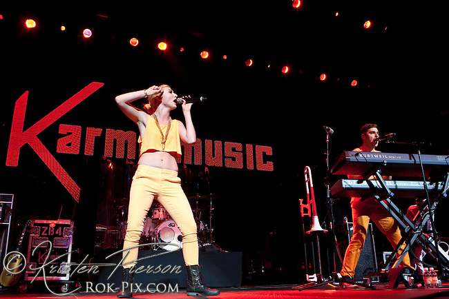 Karmin performs at Mohegan Sun Arena July 23, 2013<br /> &copy;2013 Kristen Pierson. All rights reserved. Do not use without permission.