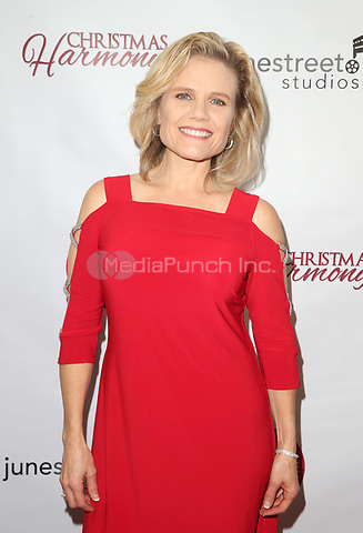 "LOS ANGELES, CA - NOVEMBER 7: Shirley Dalmas, at Premiere of Lifetime's ""Christmas Harmony"" at Harmony Gold Theatre in Los Angeles, California on November 7, 2018. Credit: Faye Sadou/MediaPunch"