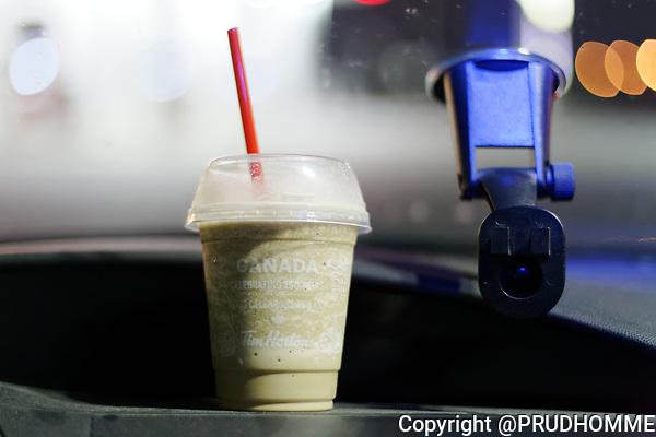 Tim Hortons Ice Cappuccino.