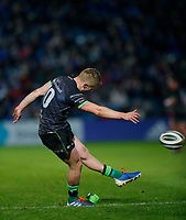4th January 2020; RDS Arena, Dublin, Leinster, Ireland; Guinness Pro 14 Rugby, Leinster versus Connacht; Conor Fitzgerald of Connacht converters Connacht's only try of the game - Editorial Use