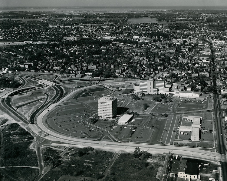 1962 October 27..Redevelopment.Atlantic City (R-1)..EVMS Campus.Norfolk General Hospital..PHOTO CRAFTSMEN INC..NEG# 50-552.NRHA# 980..