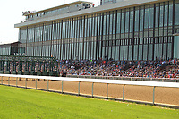 HOT SPRINGS, AR - MARCH 18: The Oaklawn grandstand before the running of the Rebel Stakes at Oaklawn Park on March 18, 2017 in Hot Springs, Arkansas. (Photo by Justin Manning/Eclipse Sportswire/Getty Images)
