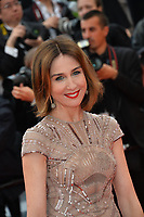 "CANNES, FRANCE. May 19, 2019: Elsa Zylberstein  at the gala premiere for ""A Hidden Life"" at the Festival de Cannes.<br /> Picture: Paul Smith / Featureflash"