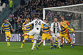 2nd February 2019, Allianz Stadium, Turin, Italy; Serie A football, Juventus versus Parma; Daniele Rugani of Juventus scores the goal for 2-0 for Juventus in the 62th minute
