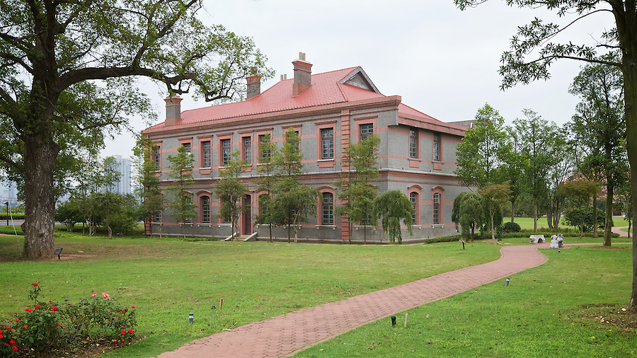 Former Residence Of Mobil/Socony/Standard Oil Manager. Juzhou Island, Changsha.