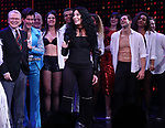 Cher with cast during the Broadway Opening Night Curtain Call of 'The Cher Show'  at Neil Simon Theatre on December 3, 2018 in New York City.