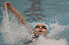 Katherine Hong of Herricks competes in the 100-yard backstroke event during the Nassau County girls swimming championships and state qualifier meet at Nassau Aquatic Center in East Meadow on Saturday, Nov. 3, 2018. She won the event with a time of 56.89.