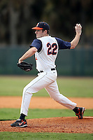 February 22, 2009:  Pitcher Ben Reeser (22) of the University of Illinois during the Big East-Big Ten Challenge at Naimoli Complex in St. Petersburg, FL.  Photo by:  Mike Janes/Four Seam Images