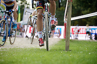 Sven Nys' (BEL/Crelan-AAdrinks) power transferred<br /> <br /> GP Neerpelt 2014