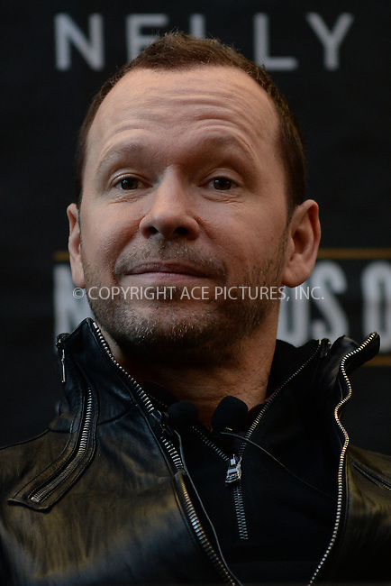 WWW.ACEPIXS.COM<br /> January 20, 2015 New York City<br /> <br /> Donnie Wahlberg attending a New Kids on The Block Press Conference at Madison Square Garden on January 20, 2015 in New York City. <br /> <br /> By Line: Kristin Callahan/ACE Pictures<br /> ACE Pictures, Inc.<br /> tel: 646 769 0430<br /> Email: info@acepixs.com<br /> www.acepixs.com