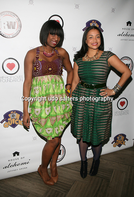 DJ Nadia Vidal Wearing Royal Jelly Harlem Designs and Royal Jelly Harlem Designer Maya Gorgoni at DJ Jon Quick's 5th Annual Beauty and the Beat: Heroines of Excellence Awards Honoring AMBRE ANDERSON, DR. MEENA SINGH,<br />