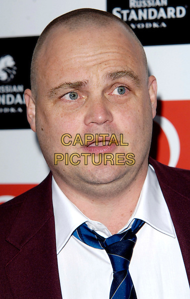 AL MURRAY.The Q Awards held at the Grosvenor House Hotel, Park Lane, London, England..October 26th 2009 .headshot portrait blue maroon red mouth open.CAP/CJ.©Chris Joseph/Capital Pictures.