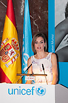 Queen Letizia of Spain during the UNICEF Spain Awards ceremony in Madrid, Spain. June 23, 2015. (ALTERPHOTOS/Victor Blanco)