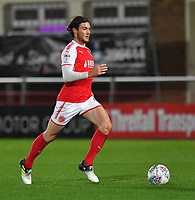 Fleetwood Town's Aiden O'Neill<br /> <br /> Photographer Dave Howarth/CameraSport<br /> <br /> EFL Checkatrade Trophy - Northern Section Group A - Fleetwood Town v Morecambe - Tuesday 3rd October 2017 - Highbury Stadium - Fleetwood<br />  <br /> World Copyright &copy; 2018 CameraSport. All rights reserved. 43 Linden Ave. Countesthorpe. Leicester. England. LE8 5PG - Tel: +44 (0) 116 277 4147 - admin@camerasport.com - www.camerasport.com