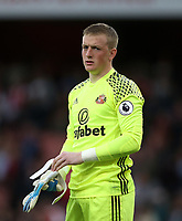 Sunderland's Jordan Pickford<br /> <br /> Photographer Rob Newell/CameraSport<br /> <br /> The Premier League - Arsenal v Sunderland - Tuesday May 16th 2017 - Emirates Stadium - London<br /> <br /> World Copyright &copy; 2017 CameraSport. All rights reserved. 43 Linden Ave. Countesthorpe. Leicester. England. LE8 5PG - Tel: +44 (0) 116 277 4147 - admin@camerasport.com - www.camerasport.com