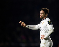 Wasps' Danny Cipriani<br /> <br /> Photographer Bob Bradford/CameraSport<br /> <br /> European Rugby Challenge Cup - Harlequins v Wasps - Sunday 13th January 2018 - Twickenham Stoop - London<br /> <br /> World Copyright &copy; 2018 CameraSport. All rights reserved. 43 Linden Ave. Countesthorpe. Leicester. England. LE8 5PG - Tel: +44 (0) 116 277 4147 - admin@camerasport.com - www.camerasport.com