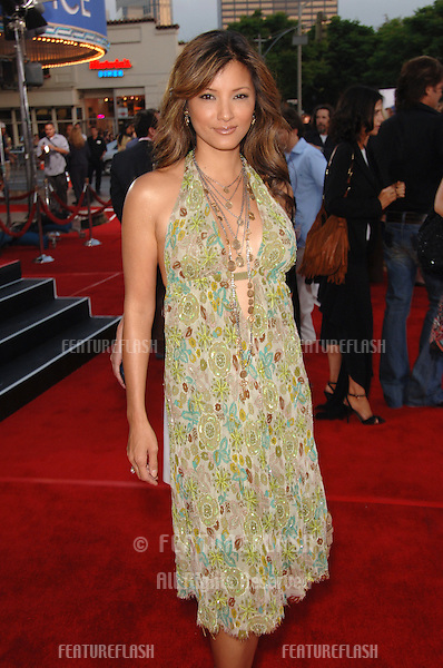 "Actress KELLY HU at the world premiere, in Los Angeles, of ""Miami Vice."".July 20, 2006  Los Angeles, CA.© 2006 Paul Smith / Featureflash"