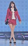 "Yuri Ebihara, Sep 14, 2013 : Tokyo, Japan : Yuri Ebihara walks the runway during the ""TOKYO RUNWAY 2013 Autumn/ Winter"" in Tokyo, Japan on September 14, 2013. - Oui, Ayano Ruban"