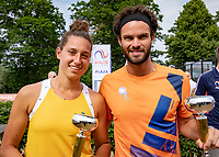 Den Bosch, Netherlands, 16 June, 2018, Tennis, Libema Open, Padel prizegiving<br /> Photo: Henk Koster/tennisimages.com