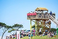 Great crowds during the Honda NZ CCI*** Cross Country. 2017 NZL-Puhinui International 3 Day Event. Auckland. Saturday 9 December. Copyright Photo: Libby Law Photography