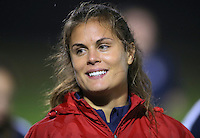 Boyds, MD - Friday Sept. 30, 2016: Kate Stengel prior to a National Women's Soccer League (NWSL) semi-finals match between the Washington Spirit and the Chicago Red Stars at Maureen Hendricks Field, Maryland SoccerPlex. The Washington Spirit won 2-1 in overtime.