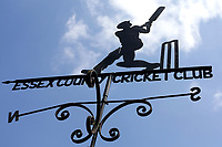 Blues skies behind the weather vane during Essex CCC vs Somerset CCC, Specsavers County Championship Division 1 Cricket at The Cloudfm County Ground on 28th June 2018