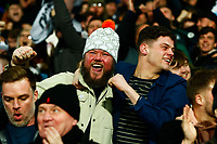 3rd March 2020; The Hawthorns, West Bromwich, West Midlands, England; English FA Cup Football, West Bromwich Albion versus Newcastle United; Newcastle United fans celebrate their opening goal