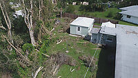 2017 FPL Hurricane Irma damage in Sarasota, Fla. on September 16, 2017.