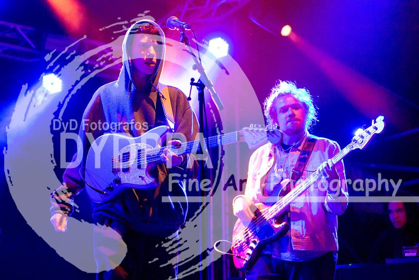 King Krule live auf dem MS Dockville Festival 2017 am Reiherstieg Hauptdeich. Hamburg, 19.08.2017