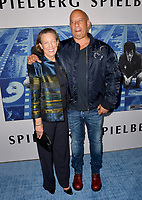 Vin Diesel &amp; Delora Vincent at the premiere for the HBO documentary &quot;Spielberg&quot; at Paramount Studios, Hollywood. Los Angeles, USA 26 September  2017<br /> Picture: Paul Smith/Featureflash/SilverHub 0208 004 5359 sales@silverhubmedia.com