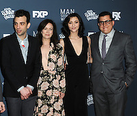 www.acepixs.com<br /> <br /> January 3 2017, LA<br /> <br /> (L-R) Jay Baruchel, Britt Lower, Katie Findlay, Andrew Singer arriving at the premiere of FXX's 'It's Always Sunny In Philadelphia' Season 12 and 'Man Seeking Woman' Season 3 at the Fox Bruin Theatre on January 3, 2017 in Los Angeles, California. <br /> <br /> By Line: Peter West/ACE Pictures<br /> <br /> <br /> ACE Pictures Inc<br /> Tel: 6467670430<br /> Email: info@acepixs.com<br /> www.acepixs.com