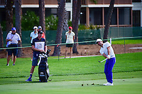 Paul Casey (GBR) hits his approach shot on 2 during round 3 of the Honda Classic, PGA National, Palm Beach Gardens, West Palm Beach, Florida, USA. 2/25/2017.<br /> Picture: Golffile | Ken Murray<br /> <br /> <br /> All photo usage must carry mandatory copyright credit (&copy; Golffile | Ken Murray)