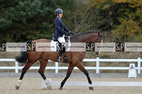 Class 5. Novice 24. Unaffiliated Dressage. Brook Farm Training Centre. Essex. 06/11/2016. MANDATORY Credit Garry Bowden/Sportinpictures - NO UNAUTHORISED USE - 07837 394578