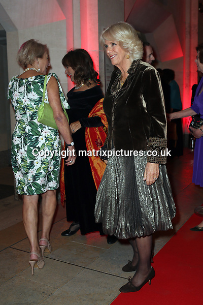 NON EXCLUSIVE PICTURE: TREVOR ADAMS / MATRIXPICTURES.CO.UK<br /> PLEASE CREDIT ALL USES<br /> <br /> WORLD RIGHTS<br /> <br /> The Duchess of Cornwall is pictured arriving at The Guildhall, Gresham Street, London, where she will present the Man Booker Prize for Fiction 2017 and attend a reception and dinner.<br /> <br /> First awarded in 1969, the Man Booker Prize is recognised as the leading award for high quality literary fiction written in English. This year's shortlisted titles and authors are: 4321 by Paul Auster, History of Wolves by Emily Fridlund, Exit West by Mohsin Hamid, Elmet by Fiona Mozley, Lincoln in the Bardo by George Saunders, and Autumn by Ali Smith.<br /> <br /> OCTOBER 17th 2017<br /> <br /> REF: MTX 172445