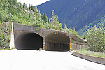 SNOW SHED,HIGHWAY #1  BRITISH COLUMBIA, CANADA